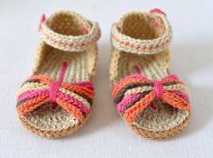 CROCHET PATTERN for Baby Sandals Paris Baby Shoes Ethnic Style Baby Booties - perfect for Beaches, Shopping, relaxing at home and looking cute and stylish! This listing is for a CROCHET PATTERN written IN ENGLISH - NOT a finished item.  This is a great project for using up scraps of yarn to create something beautiful - make them in different colors for different outfits, or all in one color for a more understated look.  Discounts offered for bulk purchases of patterns:-  Any 2 patterns for…
