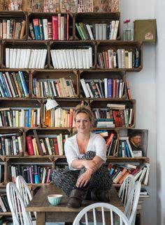 """Cafe-Besitzerin Carola Bühn (Cafe Livres) aus den """"Sugar Girls"""" von Jana Henschel und Meike Werkmeister © Ulrike Schacht"""