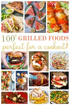 Grilled entrees, sides, and desserts are all included in this recipe collection of over 100 delicious dishes for your summer cookout !