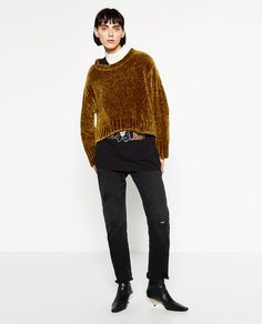 FULL CHENILLE SWEATER-Sweaters-KNITWEAR-WOMAN | ZARA United States