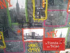 Nos llegan las #lonetas #estampadas de new york por las que tanto nos preguntais