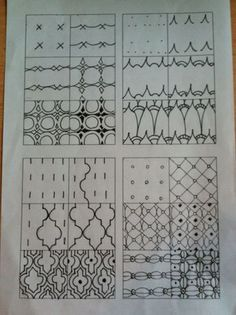 Zentangle stappen Zentangle tutorial