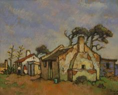 Mamre | Conrad Theys (South African b. 1940) | pastel 25cm x 30cm Painting Lessons, Artist Painting, House Painting, Landscape Art, Landscape Paintings, Meaningful Paintings, Pastel Art, Pastel Paintings, South African Artists