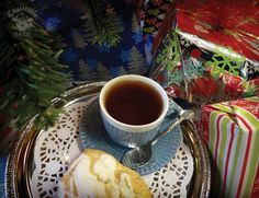 Tea belongs under the tree. Give the gift of tea! Shop loose-lea tea at www.louisvilleteacompany.com