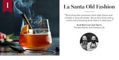 12 Days Of Cocktails  <  From some of the country's best bartenders  /  W&S