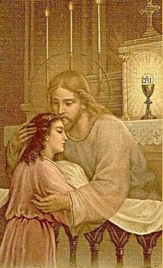 Divine Mercy: 1598 I saw how unwillingly the Lord Jesus came to certain souls in Holy Communion. Catholic Art, Roman Catholic, Religious Art, Miséricorde Divine, Divine Mercy, Religious Pictures, Jesus Pictures, Croix Christ, Jesus Reyes