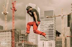 project levitation - skyline frankfurt am main
