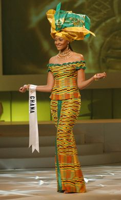 Menaye Donkor competing in the Miss Ghana Universe 2004. She is associated with Sulley Muntari, the football player in the Barclay Premier League. She holds a bachelor's degree in marketing from York University.