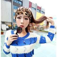 Sexy Smoked Leopard Printed Hair Band Headband for only $15.99 ,cheap Fashion Scarves - Clothing & Apparel online shopping,Sexy Smoked Leopard Printed Hair Band Headband