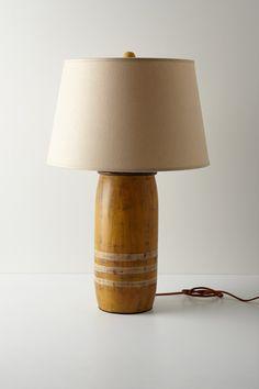 "Yellow Boathouse Lamp Base - Anthropologie.com; 21"" x 7.5"""