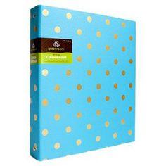 "Greenroom 1"" Metallic Dot Binder - Assorted Colors"