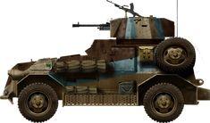 British Marmon-Herrington Mk.IIIa, Lybia fall 1942, pin by Paolo Marzioli