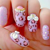 Purple Pink Leopard
