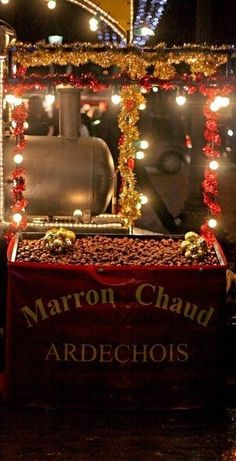 The Streets Of Paris Are Filled With The Aroma Of Delicious Chestnuts DuringThe Winter Holiday Season -ShazB