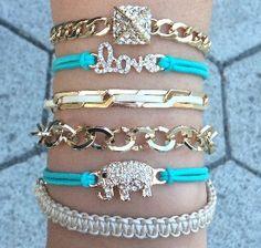 Lucky Me #Bracelet Stack #ChichiMe