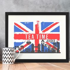 Personalised Framed Poster - Union Jack