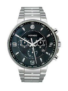 4fe322b1deac Movado SE Pilot Chronograph Stainless Steel Men s watch  606759. Matt Smith  · Watches · His  amp  Hers -  MichaelKors ...
