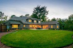 Exterior Backyard - Twilight