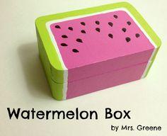 Tutorial: Painted Watermelon Box