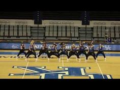 When it gets to Ladies leave yo man at home!!! wooooo    University of Kentucky Dance Team Hip Hop Nationals Preview 2013 - YouTube