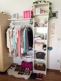 New design furniture diy closet Ideas Closet Bedroom, Bedroom Storage, Home Bedroom, Bedroom Decor, Pinterest Room Decor, Closet Organisation, Cute Room Decor, Dream Rooms, Diy Home Decor