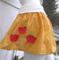 apple jack cosplay | MY LITTLE PONY Skirt Applejack MLP FiM Cosplay your size Apple Jack ...