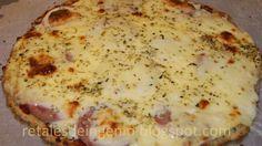 Retales de ingenio: Recetas y Dietética: Pizza con masa de calabacín