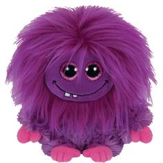 Ty Frizzys Lola Beanie Purple Plush Toy