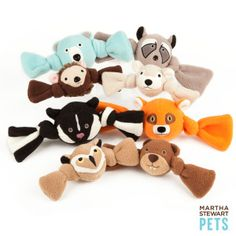 Martha Stewart Pets™ Fleece Tug Ball Dog Toy - PetSmart