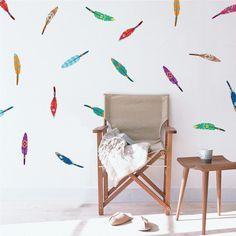 """Be at the tip of trendiness with these lovely (and affordable!) arrow wall decals. They will pair nicely with this t-shirtfrom Etsy and this adorable bracelet from Ruche! Size: 24""""x12"""" sheet comes wit"""