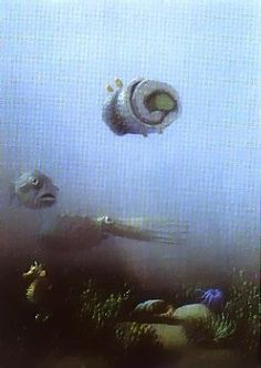 Sushi - by Michael Sowa Michael Sowa, The Beautiful South, Carl Larsson, Art For Art Sake, Funny Art, Drawing People, Les Oeuvres, Surrealism, Illustrators