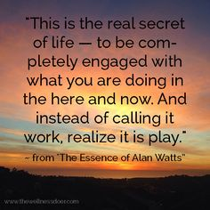 Great Alan Watts #quote