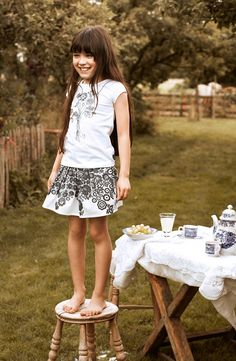 Inspired by Dutch Roots the new Jottum Summer collection gives a romantic feeling to all girls wearing there dresses!