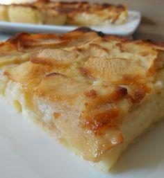 CLAFOUTIS AUX POMMES  Imprimer la recette Préparation 15 min Cuisson 30 min Total 45 min  Le clafoutis aux pommes de Mamé… Quantité: 4 person