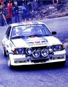 Walter Rohrl  Opel Ascona 400 gr.4 Rally Montecarlo 1982