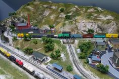 Another hobby of mine, N scale train diorama. N Scale Model Trains, Model Train Layouts, Scale Models, Pictures Of Barbie Dolls, Sault Ste Marie, Simple Camera, New York City Travel, Diorama, Scenery