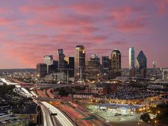 Texas Photography | Dallas at Dawn Texas - Photography | Images, Wallpaper & Ecard
