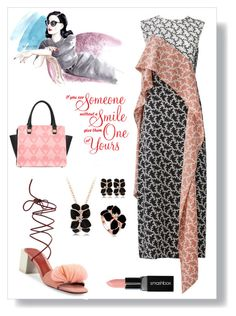 """""""August Work Style (8/1/17)"""" by freida-adams ❤ liked on Polyvore featuring Diane Von Furstenberg, Mercedes Castillo, Smashbox, jewelry, summerstyle, jewelrysets, AtelierBriella and lamiacara"""