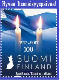 Year Of Independence, Finland Travel, Pen Pals, My Heritage, Ephemera, Denmark, Countries, Blue And White, Stamp