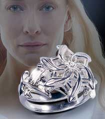 The Noble Collection: The Galadriel™ Ring  Size 9 would be wonderful if anyone wants to buy it for me ;-)