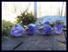 raw amethyst ring amethyst ring february by dieselboutique on Etsy