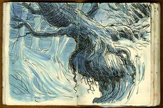 Adam Stower Sketchbook
