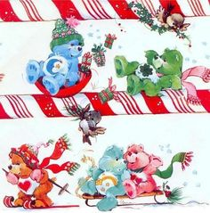 The Original Care Bears Ghost Of Christmas Past, Christmas Love, Christmas Pictures, Winter Christmas, Xmas, Christmas Cartoon Movies, Care Bears Vintage, Rainbow Brite, Cute Clipart