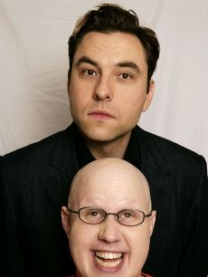 David Walliams and Matt Lucas. Little Britain British Humour, British Comedy, Kinds Of People, Good People, Lucas David, Britain's Got Talent, Little Britain, You Make Me Laugh, Comedy Tv