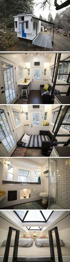A 192 sq ft tiny house in Utah