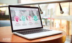 Santé Coaching - Criação de sites - Sonna Publicidade