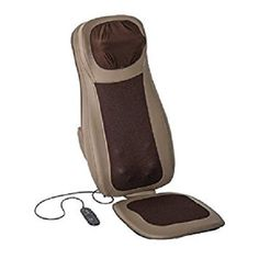Massage Seat Cushion Chair Back Heat Home Car Lumbar Neck Pad New 4 Neck Back  #Soozier