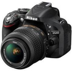Nikon-D5200 Digital SLR Camera with 18-55mm VR Lens