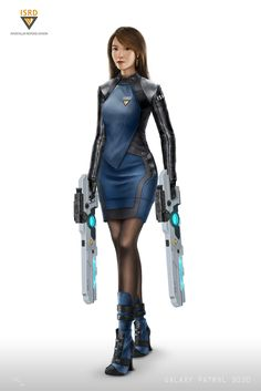 ArtStation - Galaxy Patrol 3030 - Character Concept | Anna Speckman, Sam Leung