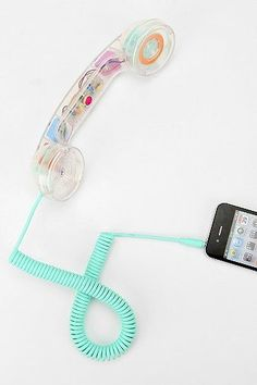 Native Union Pop Phone Handset - BONUS! An old-school handset for your iPhone will definitely make you stand out in a crowd.
